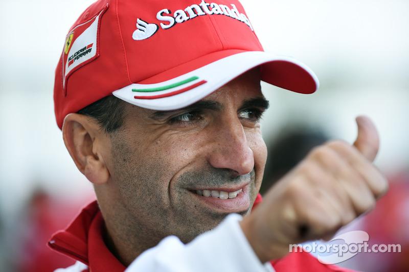 Marc Gene, Ferrari, piloto de pruebas