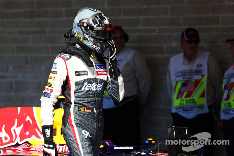 Adrian Sutil, Sauber in parc ferme