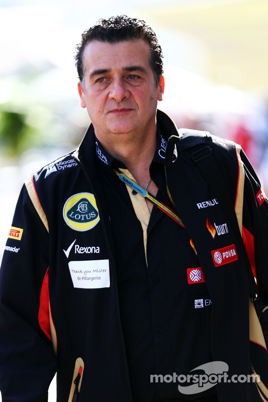Federico Gastaldi, director adjunto de Lotus F1 Team