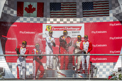 CS podium: winner James Weiland, second place Robert Herjavec, third place Ross Garber