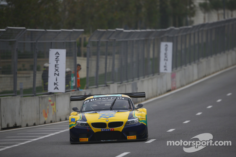 #20 BMW Sports Trophy Team Brasil BMW Z4: Ricardo Sperafico, Rodrigo Sperafico