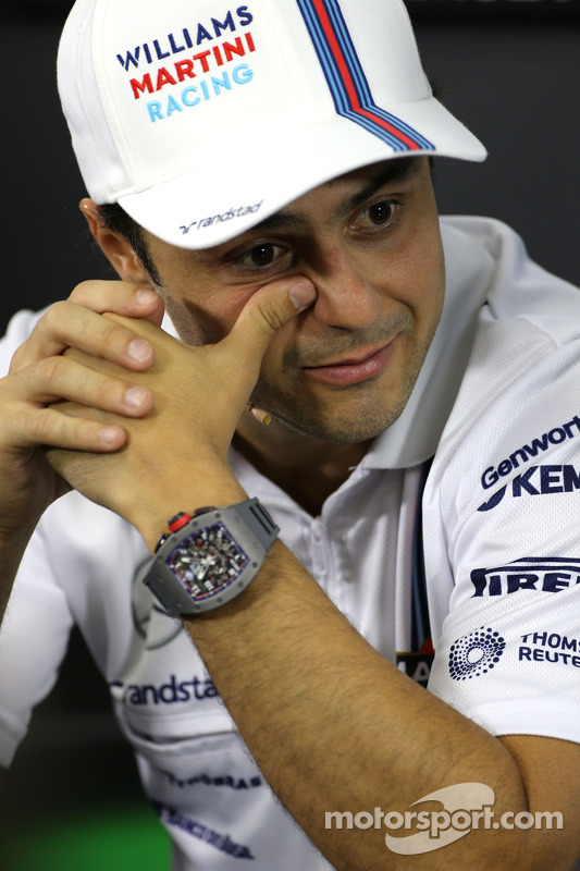 Felipe Massa, Williams F1 Takımı FIA Basın Konferansı'nda