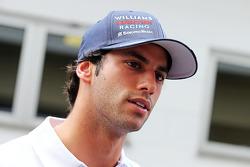 Felipe Nasr, piloto de pruebas y reserva de Williams