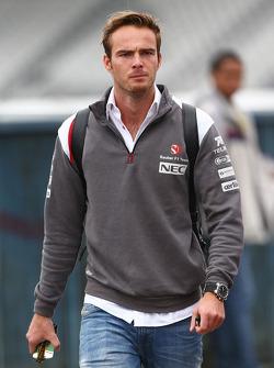 Giedo van der Garde, Sauber, piloto de prueba