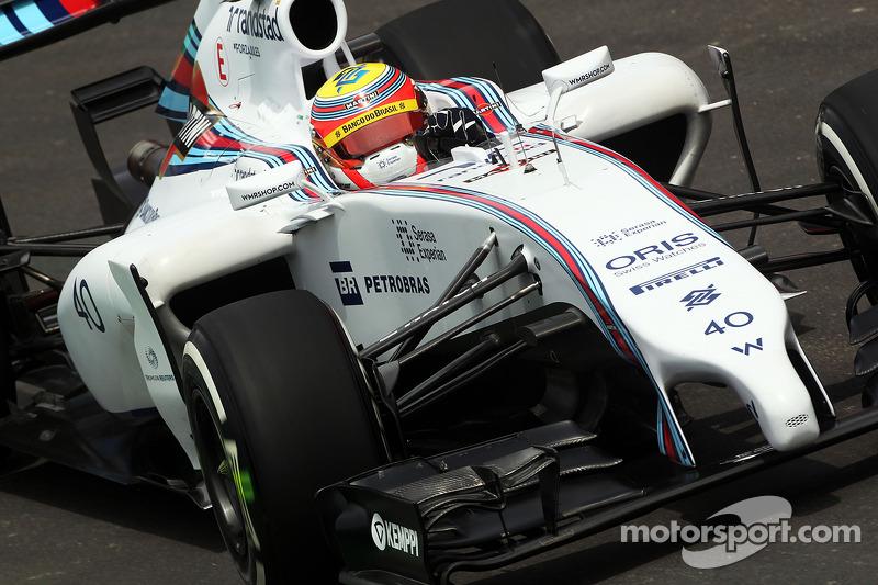 Felipe Nasr, piloto de pruebas y reserva en Williams FW36