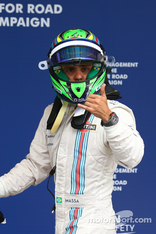 Felipe Massa, Williams FW36 qualifies in 3rd place