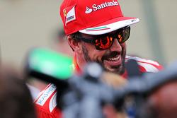 法拉利车队的费尔南多·阿隆索