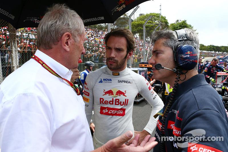 Dr Helmut Marko, Red Bull Motorsporları Danışmanı ve jvep, gridde