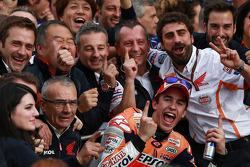Марк Маркес. ГП Валенсии, воскресенье, после гонки.