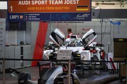 #1 Audi não fica pronto para participar da classificação