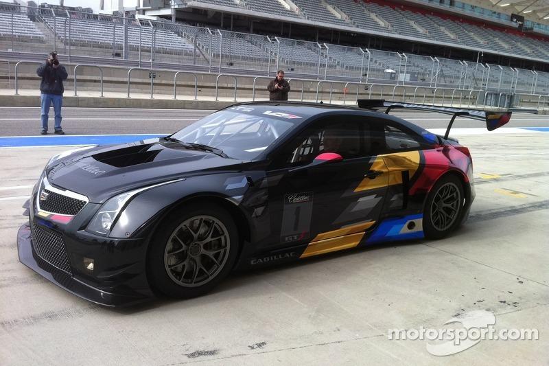 Cadillac rally car