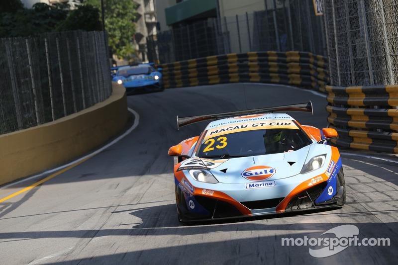 #23 United Autosports 迈凯伦 MP4-12C GT3: 丹尼·瓦茨