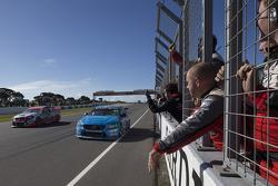 Scott McLaughlen, Polestar Racing Volvo S60 logra la victoria