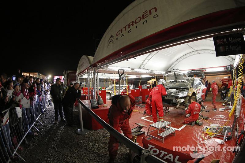 Área del equipo Citroën