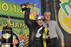 Erica Enders-Stevens, champion Pro Stock 2014
