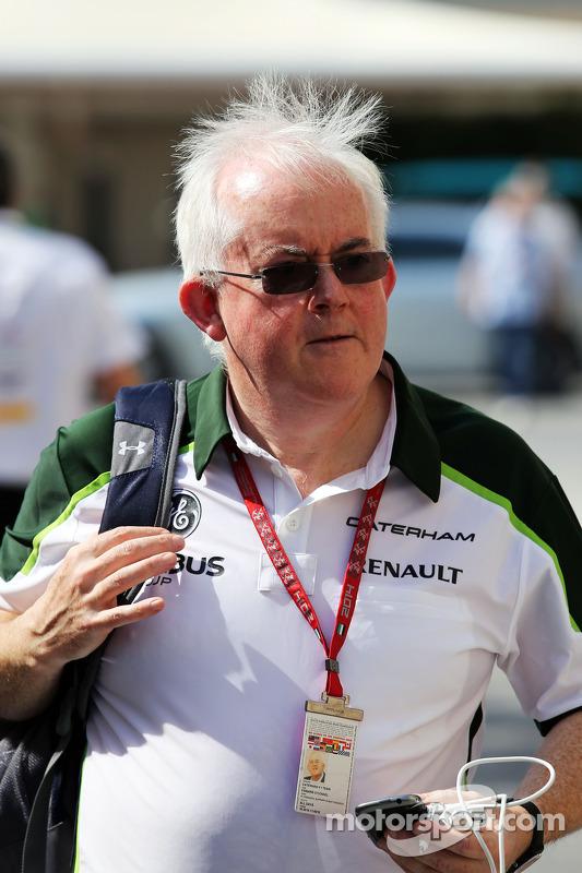Finbarr O'Connell, Caterham F1 Team Administrator