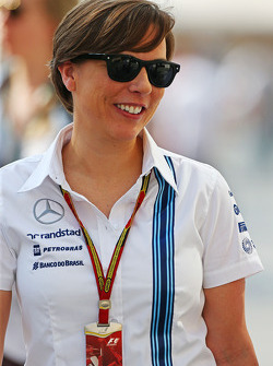 Claire Williams, directora del equipo Williams