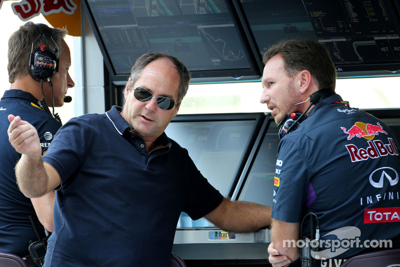 Gerhard Berger, Red Bull Racing, Sportif Direktör