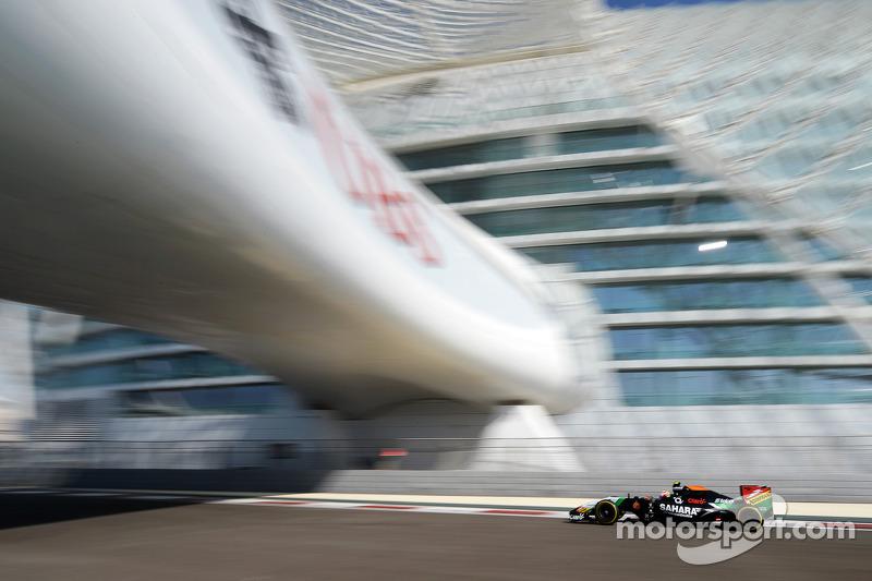 Séptimo lugar en la última carrera del año, GP de Abu Dabi 2014