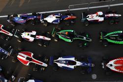 GP3, autos en Parc Ferme