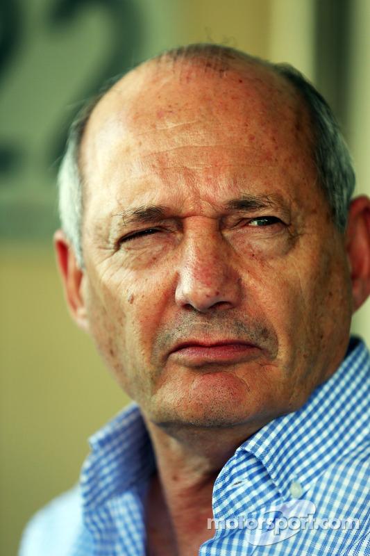 Ron Dennis, directivo de McLaren