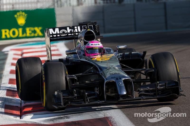 2014 - McLaren MP4-29: oitavo lugar no Mundial de Pilotos, com 126 pontos