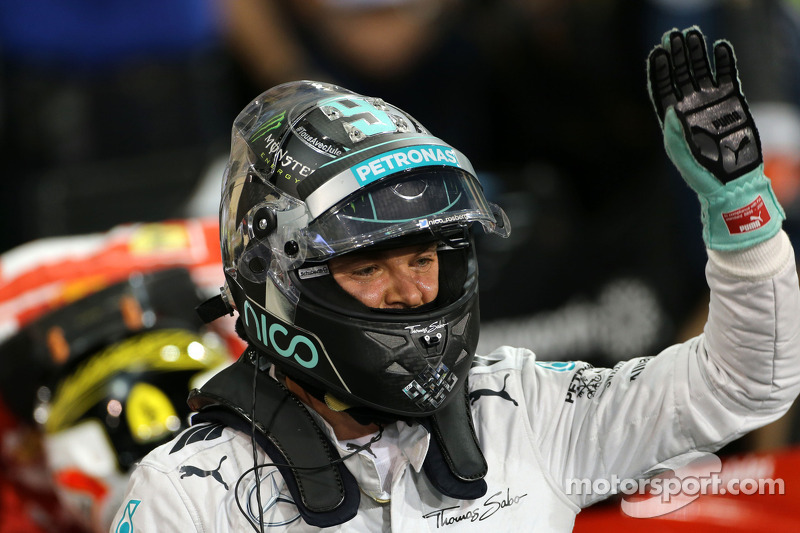 Polesitter Nico Rosberg, Mercedes AMG F1 W05