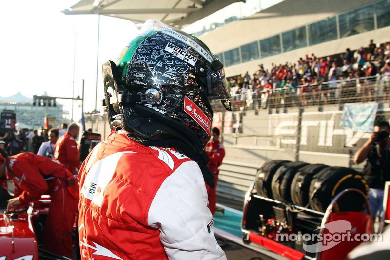 Fernando Alonso, Ferrari gridde