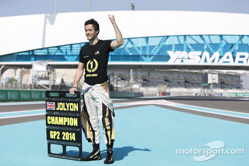 Campione GP2 Jolyon Palmer, DAMS