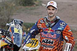 Представление мотогонщиков Red Bull