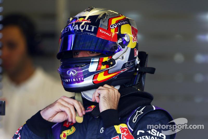 Carlos Sainz Jr., piloto de testes da Red Bull Racing