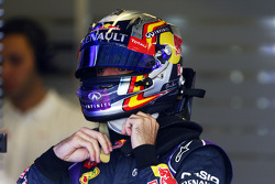 Carlos Sainz Jr., piloto de testes da Red Bull Racing