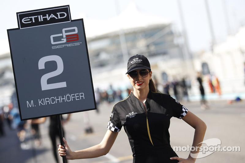 Marvin Kirchhofer için grid kızı, ART Grand Prix