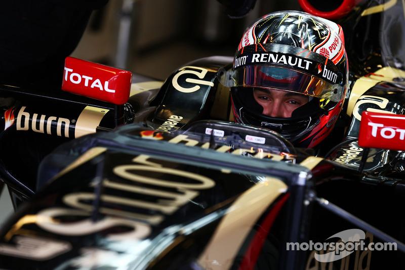 Esteban Ocon,piloto de pruebas, Lotus F1 E22