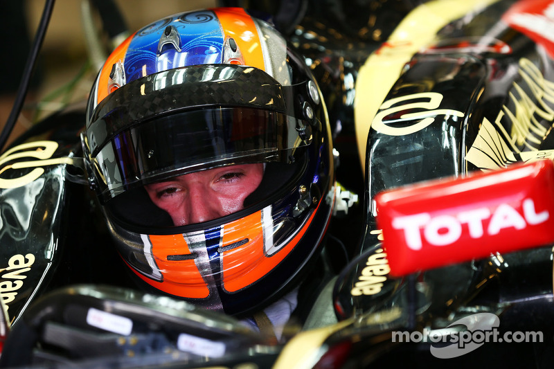 Alex Lynn, piloto de pruebas de Lotus F1 E22