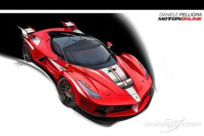 Ferrari tasarım konsepti