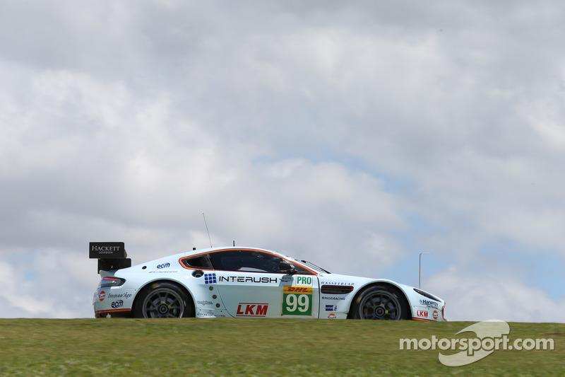 #99 AMR Aston Martin Vantage: Alex MacDowall, Darryl O'Young, Fernando Rees
