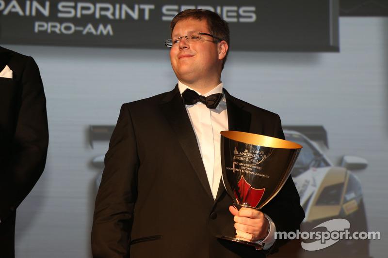 Segundo sitio de la Blancpain Sprint Series-Pro-Am Cup: Sascha Halek
