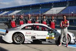 Декабрьские тесты Audi