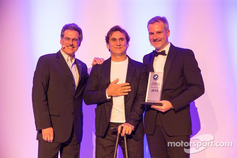 Dr. Mario Theissen, Alex Zanardi and Jens Marquardt
