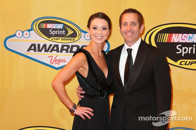 Greg Biffle e sua moglie Nicole