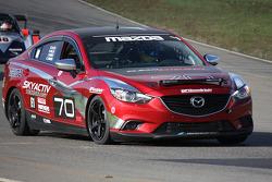 #70 Mazdaspeed factory Guys Mazda 6 Diesel: Jeremy Barnes, Ken Saward, Mike Allen, Randy Miller