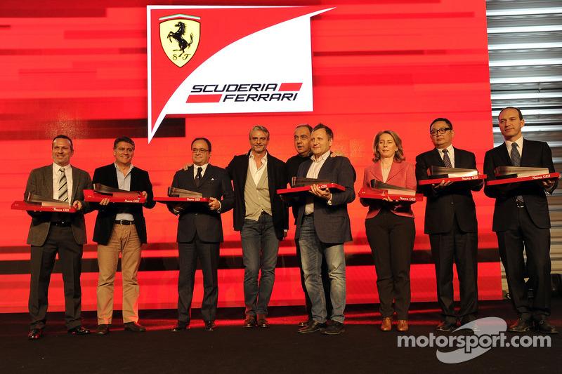 Ferrari end of year awards