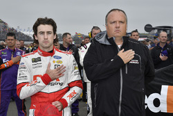 Ryan Blaney, Team Penske, Ford Fusion DEX Imaging and crew chief Jeremy Bullins