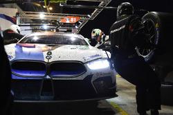 #82 BMW Team MTEK BMW M8 GTE: Antonio Felix da Costa, Alexander Sims, Augusto Farfus, au stand
