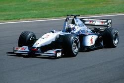 Le vainqueur David Coulthard, McLaren