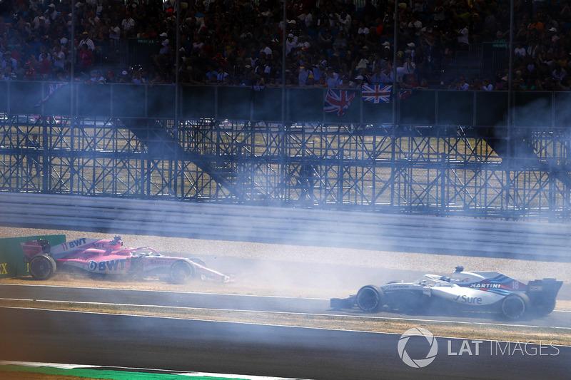 Серхіо Перес, Force India VJM11, Ленс Стролл, Williams FW41
