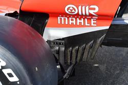 Aileron arrière de la Ferrari SF71H