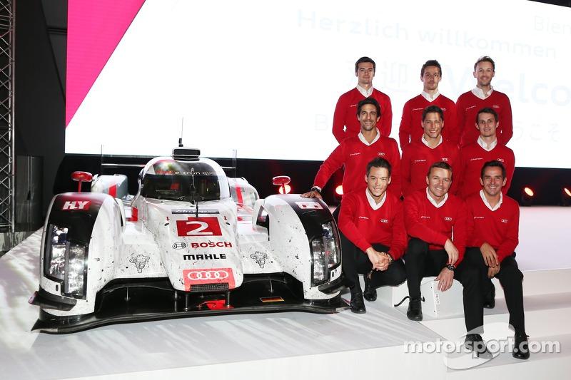 WEC LMP1 Audi Sport, pilotos