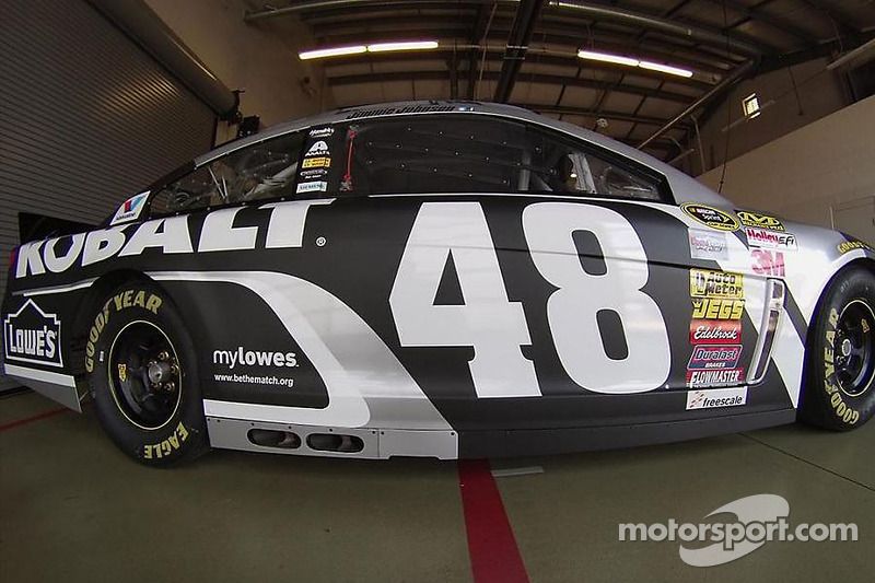 A 2015 paint scheme for Jimmie Johnson, Hendrick Motorsports